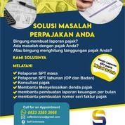 Jasa Pelaporan SPT Tahunan Pribadi & Badan, PKP, Termurah & Berpengalaman Di Madiun (31033381) di Kab. Madiun
