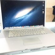 "Laptop MacBook Pro 2008 Core2 Duo 2.4GHz 17"" HDD 160GB RAM 4GB Seken (31034360) di Kota Jakarta Pusat"