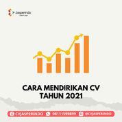 CARA MENDIRIKAN CV TAHUN 2021 (31047888) di Kab. Pandeglang