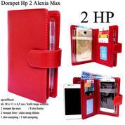 Dompet Kulit Hp Alexia Max Double Taiga Red (31048415) di Kota Jakarta Timur