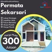 Rumah Minimalis Modern Depan Kantor Terpadu Permata Sekarsari Residence (31069896) di Kab. Malang