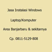 Jasa Instalasi Windows Laptop/Komputer (31080210) di Kota Banjarbaru