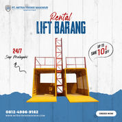 Rental / Sewa Lift Barang, Lift Material, Profesional Hoist Area Situbondo (31090607) di Kab. Situbondo