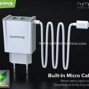Cas Hippo Nymp 2 Adaptor Charger 2.4 A Smart Detect Charging Termurah (31103846) di Kota Surakarta