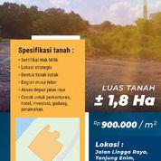 Tanah Siap Bangun Seluas 1,8 Hektar Di Tanjung Enim, Muara Enim, Sumatra Selatan (31115642) di Kab. Muara Enim