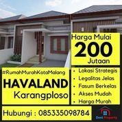 Rumah Mewah Dekat Kampus ITN 2 Havaland (31120908) di Kab. Malang
