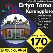 Promo Rumah Subsidi Di Griyatama Residence Dekat Exit Tol (31121014) di Kab. Malang