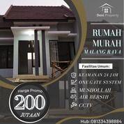 Hunian Murah Desain Modern Dekat Bandara Dan Wisata Wendit (31130032) di Kab. Malang