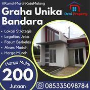 Rumah Mewah Di Graha Unika Dekat Bandara ABD. Saleh (31132289) di Kab. Malang