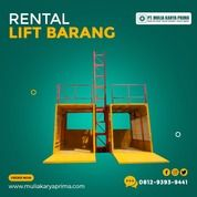 Sewa Lift Barang Kapasitas 1-4 Ton / Profesional Hoist / Alimak (31143458) di Kota Jakarta Pusat