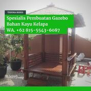 Tukang Saung Kayu Glugu Minimalis Bandung (31160794) di Kab. Jepara
