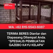 UNIK DAN MEWAH, Tukang Gazebo Kayu Kelapa Minimalis DKI Jakarta (31170146) di Kab. Jepara