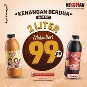 Kopi Kenangan *Kenangan Berdua 2 Liter mulai dari Rp. 99 RB (31170416) di Kota Jakarta Selatan