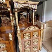 Mimbar Masjid Kubah Ukir Gebyok (31174097) di Kab. Madiun