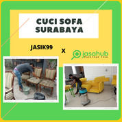 Jasa Cuci Sofa, Sofabed, Kursi Kantor, Kursi Kerja Panggilan Surabaya (31185138) di Kota Surabaya