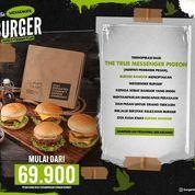 Burger Bangor THE MESSENGER BURGER Mulai dari Rp. 69.900 (31187357) di Kota Jakarta Selatan