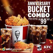 KFC Anniversary Bucket Combo mulai dari 99,091 (31187835) di Kota Jakarta Selatan