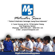 Jasa Training Dan Motivasi (31188991) di Kota Tangerang