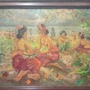 Lukisan Lemayer Ex Kolektor (31195299) di Kota Tangerang