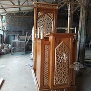 Mimbar Masjid Minimalis Custom (31204021) di Kab. Bojonegoro