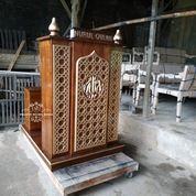Mimbar Masjid Minimalis Podium (31204028) di Kab. Bojonegoro