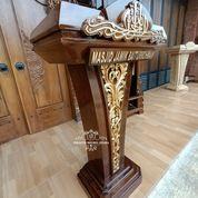 Podium Mimbar Masjid Minimalis Ukir (31204049) di Kab. Bojonegoro