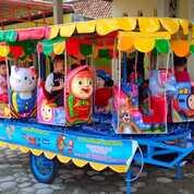 Odong Odong Kereta Panggung Fberplat Doble Atap (31216079) di Kota Banjarbaru