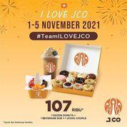 JCO promo #ILOVEJCO yang akan diadakan tanggal 1 - 5 November 2021 (31220433) di Kota Jakarta Selatan