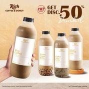 Richeese Factory MAU DAPET DISC 50% MINUMAN 1L RICH COFFEE & DONUT? (31232874) di Kota Jakarta Selatan