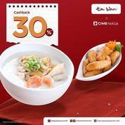Ta Wan Ada CASHBACK 30%* buat Sobat Ta Wan pengguna aplikasi OCTO Mobile dari CIMB Niaga. (31233084) di Kota Jakarta Selatan