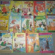 Komik Vintage Popeye The Sailor Terbitan PELITA dan KING (3150191) di Kota Jakarta Timur