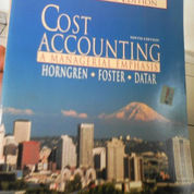 Cost Acounting a Managerial Emphases