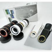 Telezoom Jepit 8x Kamera Lensa Canggih Untuk Smartphone Menjadi SLR