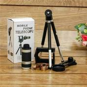 Universal Telezoom Gratis Tripod Camera 8x Mobile Telescope Special Terlaris