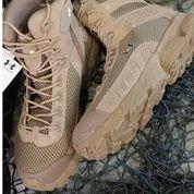 sepatu boot 7 in under armor Warna Tan Gurun saja