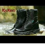 Sepatu PDL TNI POLRI / Sepatu Touring / Sepatu Kulit / Separu Kickers / Sepatu Polisi / Sepatu Kerja