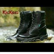 Sepatu PDL TNI POLRI / Sepatu Touring / Sepatu Kulit / Separu Kickers / Sepatu Polisi / Sepatu Kerja (3860145) di Kota Bandung