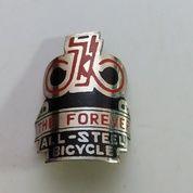 Emblem peneng totokan sepeda onthel merk forever
