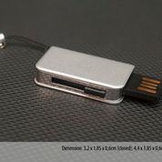 USB Flashdisk model slim book case 4GB (4004759) di Kota Tangerang