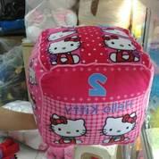 Bantal Kotak kubus karakter hello kitty frozen & marsha grade super ORI SNI empuk murmer (4046407) di Kota Jakarta Selatan