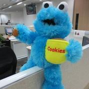 Boneka Monster Cookies Blue serial kartun TV kabel Sesame Street SNI murmer (4046513) di Kota Jakarta Selatan