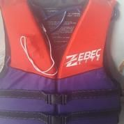 Pelampung / Life jacket merk ZEBEC lite