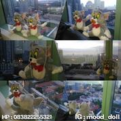 Boneka karakter Si Kucing Nakal serial kartun TOM AND JERRY grade SNI (4145891) di Kota Jakarta Selatan