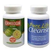 Pure Cambogia Ultra + Pure Life Cleanse - Paket Pelangsing Tubuh (4158499) di Kota Jakarta Utara