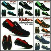 Sepatu Casual Slop Pria / Sepatu Santai / Sepatu Keren / Slipon Pria / Sepatu Kickers / Kickers Slop