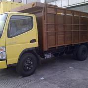 MITSUBISHI COLT DIESEL CANTER FE 74 HD 125 Ps NEW BAK KAYU RANGKA BESI (4271377) di Kota Jakarta Timur