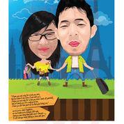 Spesialis Jasa Desain Karikatur Wajah Digital & Scrape Frame 3d Professional (4283707) di Kab. Bekasi