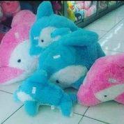 Boneka mainan anak Si hewan Lumba Lumba (dolphin) grade SNI NEW murmer (4356505) di Kota Jakarta Selatan