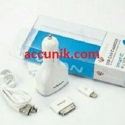 USB charger mobil 4 slot USB original vivan (6.8A)