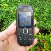 Hape Jadul Nokia C1-00 Seken Dual SIM Phonebook 500 Mulus